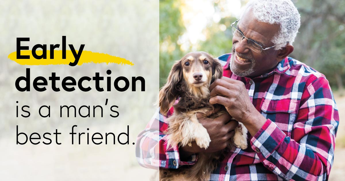Early detection is a man's best friend
