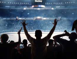 Heart rates jump when watching hockey