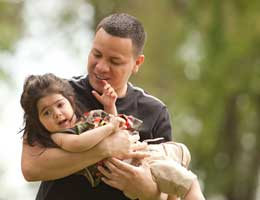 Study: Dads treat sons, daughters differently