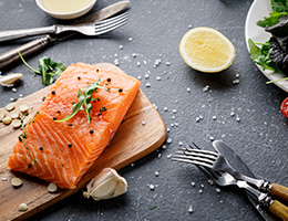 For health and flavor, fish is a keeper