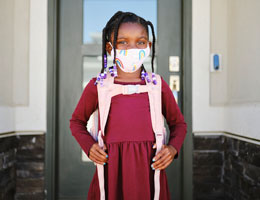 How to help kids wear face masks