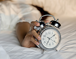 Don't 'fall back' into your old sleep habits