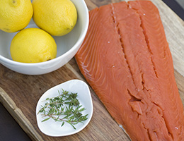 Unsavory salmon? Report reveals how chemicals swim up food chain