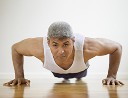 Pushups: An unlikely clue to heart health
