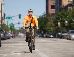 Want to live longer? Bike to work